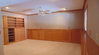 Old Basement Family Room