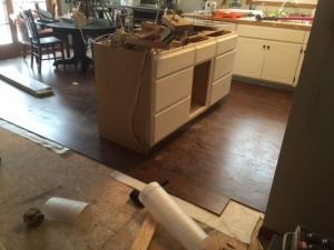 Day 1 Flooring Install