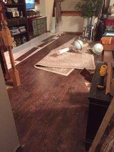 Day 2 Flooring Install